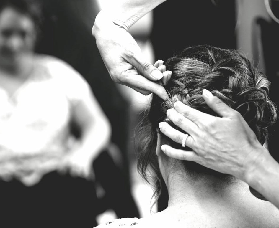 Erie PA Bridal Hair Stylist